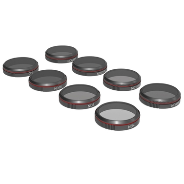 Freewell DJI Mavic 2 Zoom Filter All Day 8 Pack