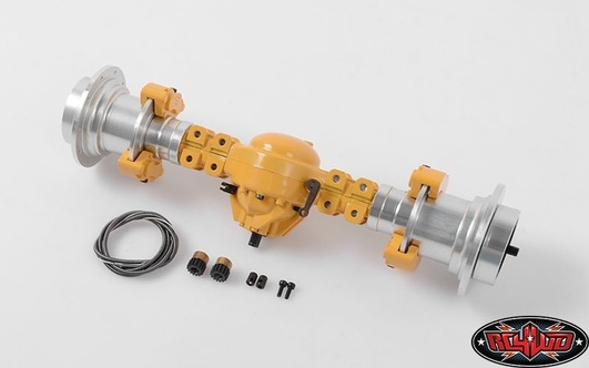 Front Axle Assembly for Earth Mover