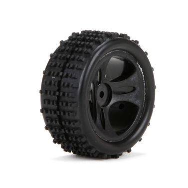 Front/Rear Premount Tire:1:24 4WD Roost