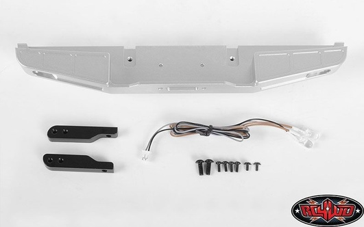 Front Winch Bumper W/LED Lights for Traxxas TRX-4 79 Bronco