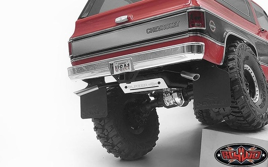 Fuel Tank W/Dual Exhaust for Traxxas TRX-4 Chevy K5 Blazer