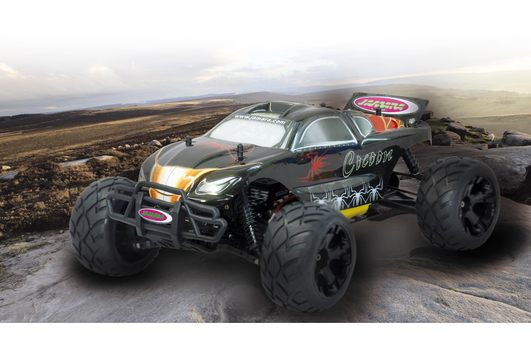 Jamara Cocoon Elektro Brushed Monster Truck 4WD 1:10 RTR