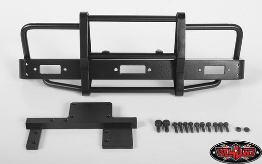 Kangaroo Front Bumper for Mojave II 2/4 Door Body Set Black