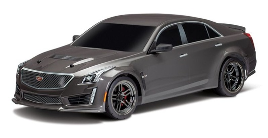 Karosserie, CADILLAC CTS-V, silber lackiert inkl. Decals