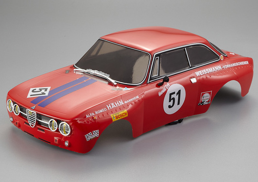 Karosserie Lancia Alfa Romeo 2000 GTAm, Red, RTU all-in