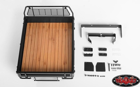 Kober Rear Bed w/Tire Holder & Mud Flaps for RC4WD TF2