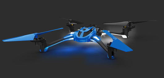 LaTrax Alias blau Quad-Copter HIGH PERFORMANCE (RTF)