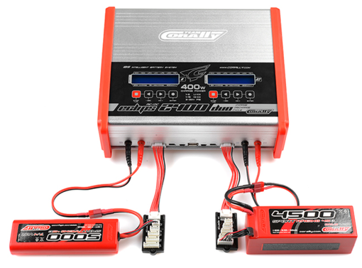 Ladegerät AC/DC Eclips 2400 Duo Charger Team Corally