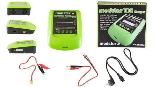 Ladegerät AC/DC MODSTER Charger 100