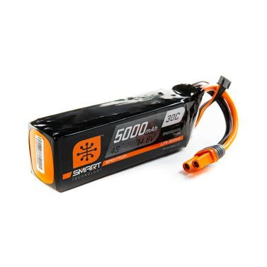 LiPo Pack 5000mAh 4S 14.8V Smart 30C IC5