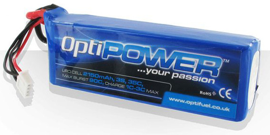 LiPo Pack Optipower 2150 mAh 3S