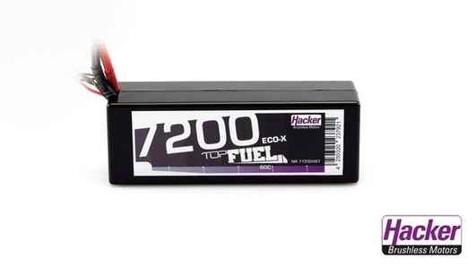 LiPo Pack TopFuel 7200 ECO-X Stick 4S