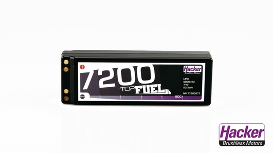 LiPo Pack TopFuel 7200 Stick 2S