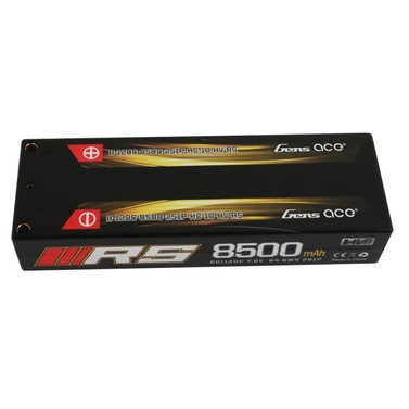 Lipo Pack Gens ace 8500mAh 7,4V 120C 2S1P(4.0mm Terminals)
