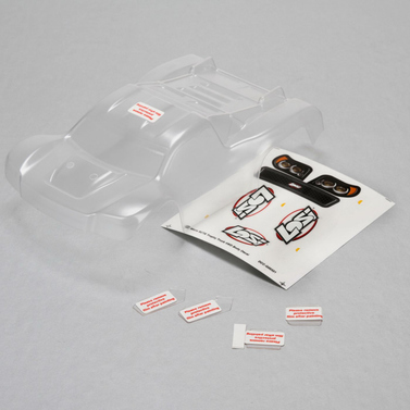 Losi 1/24 Micro SCTE Body Set transparent