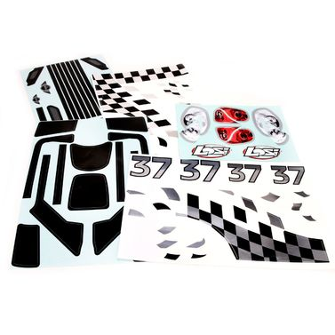 Losi 5IVE-R: Rally Stickerbogen