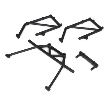 Losi Rear Cage Mount & Fender Brace Set (4): 5TT
