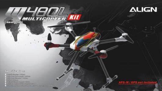 M480L Multicopter Kit
