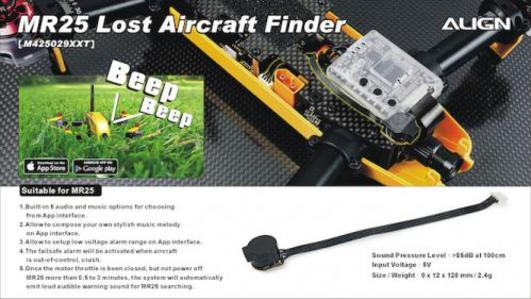 MR25 Lost Aircraft Finder