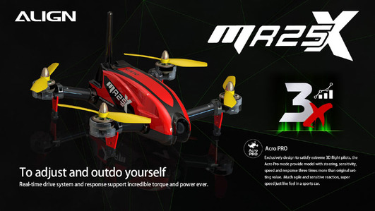 MR25X Racing Quad Combo (rot)