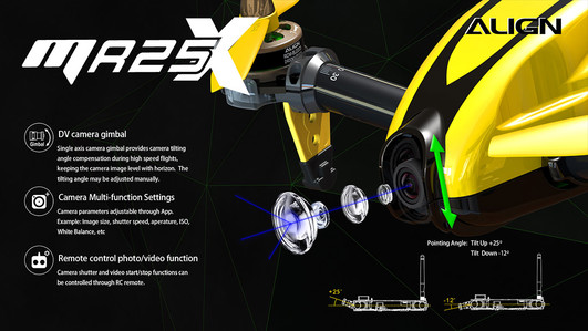 MR25XP Racing Quad Combo (gelb)