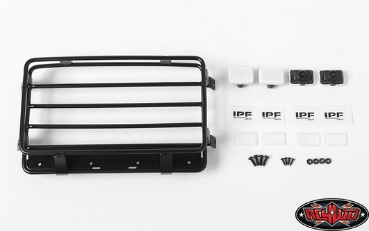 Malice Mini Roof Rack w/Lights for Mojave II Body Set