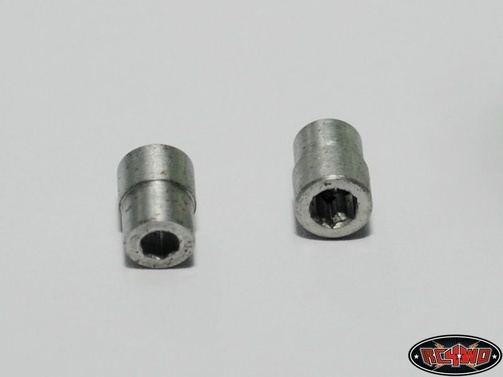 Miniature Scale Hex Bolt Tool (M2 Hex)