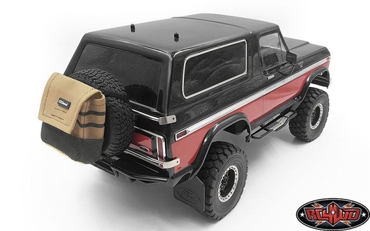 Mountable Trash Bag for Spare Tire (Tan) RC4WD