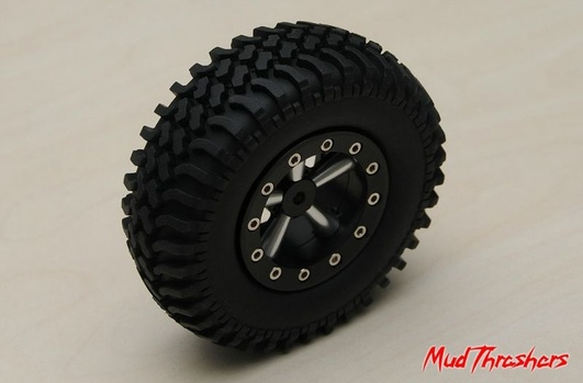 Mud Thrashers Single 1.9 Scale Tire