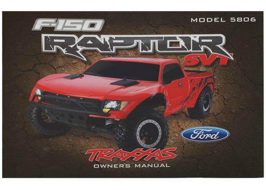 OWNERS MANUAL, FORD RAPTOR (MO