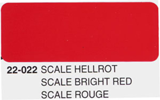 Oracover scale hellrot