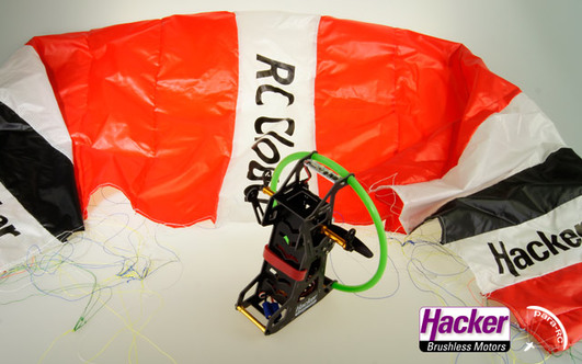 Para-RC Cloud 0.5 Rucksackset RTF (rot) DS-5 Mode 1