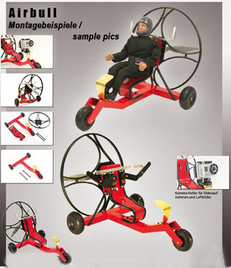 "Para-RC Trike ""Airbull"" Conversion-Kit"