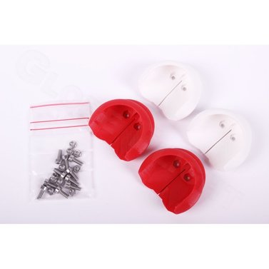 Phantom II Propeller Guards Smart Clip Set weiß/rot