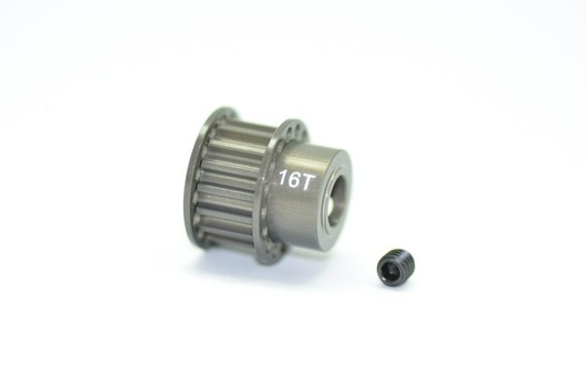Pulley alu 16T hard anodized