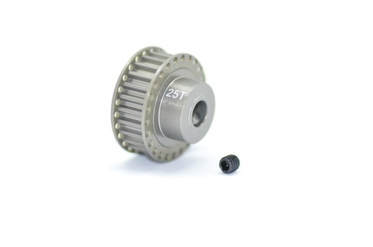 Pulley alu 25T hard anodized