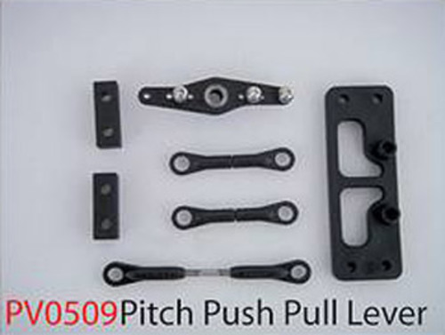 Push Pull Anlenkung Pitch Titanium 50