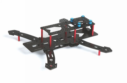 RACE COPTER ALPHA 250Q Chassis Bausatz mit BL Antrieb
