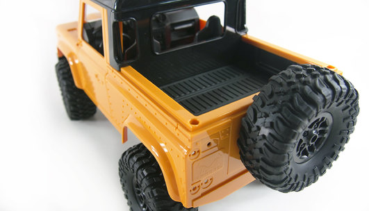 RC AMX Rock Pick Up 4WD RTR 1:16 gelb