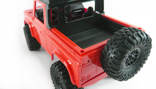 RC AMX Rock Pick Up 4WD RTR 1:16 rot