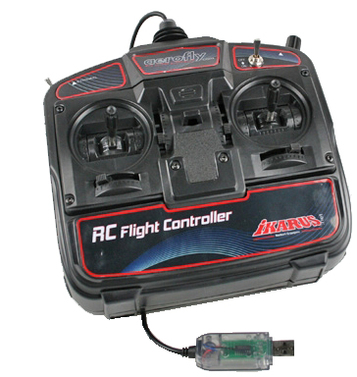 RC Flight Controller für aerofly RC7 (aerofly 7-Kanal USB Game Commander)