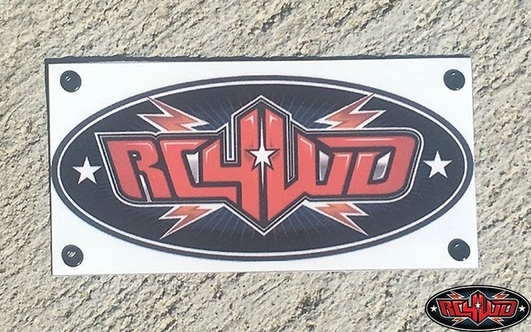 RC4WD 1/10 Scale Trail Banner (S)