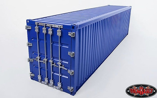 RC4WD 1/14 All Metal 40 ShipStiftg Container (Blue)