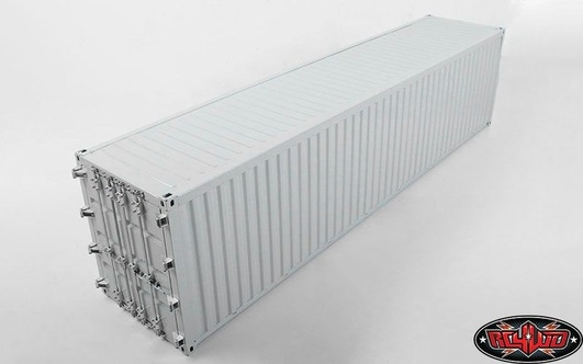 RC4WD 1/14 All Metal 40 ShipStiftg Container (Grey)
