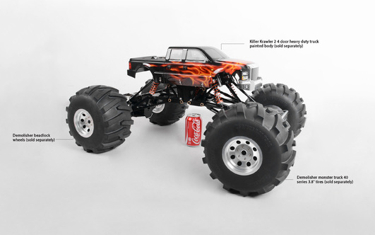 RC4WD 1/4 Killer Krawler 2 Kit (Black)