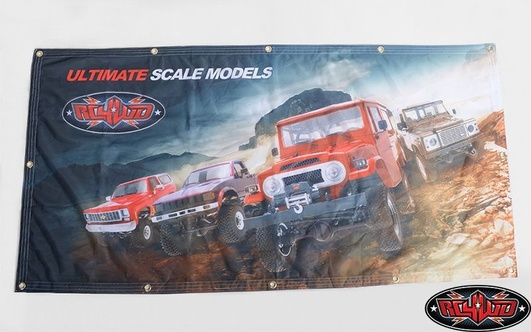 RC4WD 2x4 Cloth Banner
