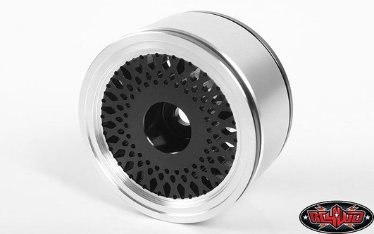 RC4WD Black Mesh 1.55 Beadlock Wheels