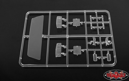 RC4WD Mojave II Clear Parts Tree