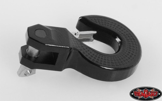 RC4WD Monster Swivel Hook w/Safety Latch (Black)