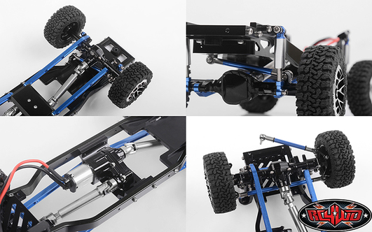 RC4WD Rascal All Metal Scale Truck Chassis Set 1/24